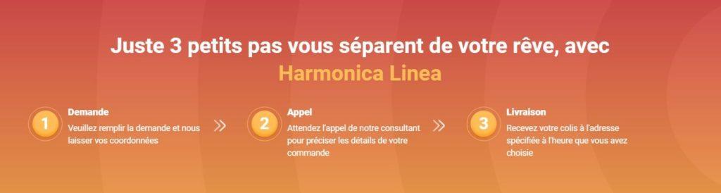 Comment acheter ou commander Harmonica Linea à un prix abordable en France?